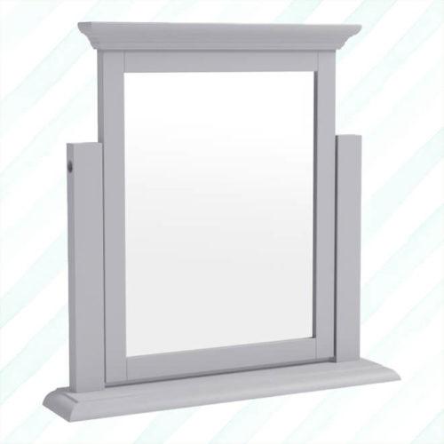 Brescia Trinket Mirror Grey