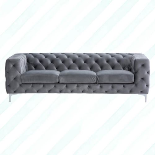 Manor Grey 3 Seater Sofa
