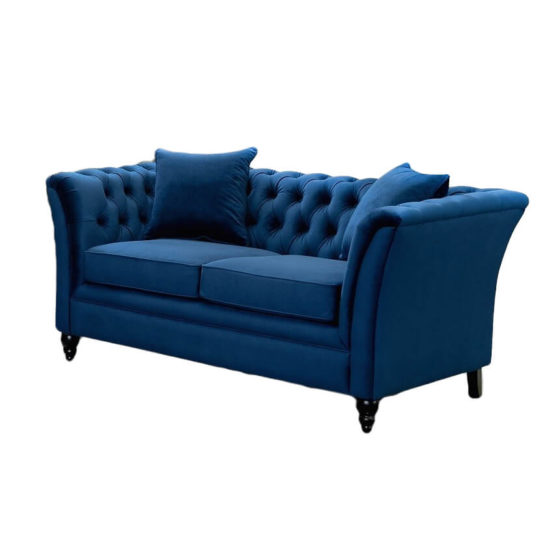 Moselle 2 Seater Sofa – Royal Blue